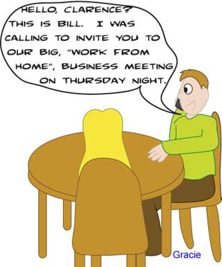 Ruggburns comic work at home business opportunity - network marketing