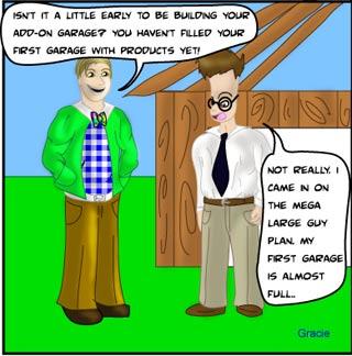 Ruggburns Work at Home Business Comic - network marketing