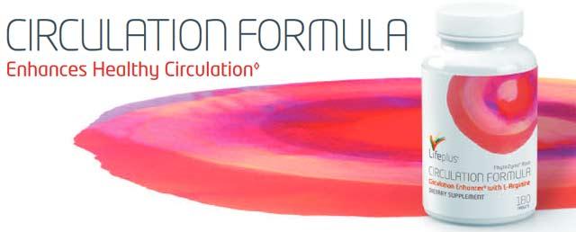 Life Plus Circulation Formula L Arginine,