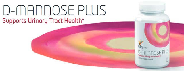 Life Plus D-Mannose Plus Supports Urinary Tract Health