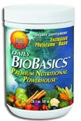 image Daily Biobasics with enzymes, nutrients, nutrition, vitamins, minerals, antioxidants, dietary fiber