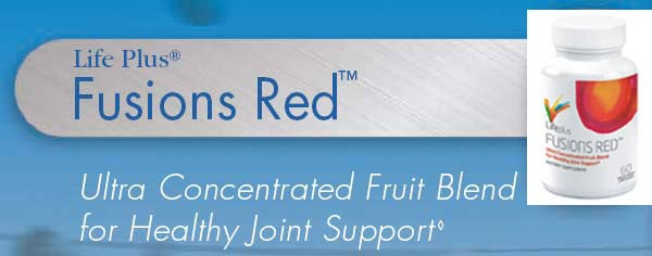 Fusions Red healthy joint support