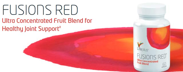 Life Plus Fusions Red Joint Support