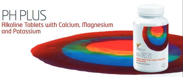 Life Plus PH Plus Alkaline Tablets with Calcium Magnesium and Potassium