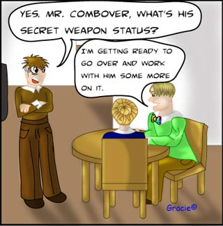 Image 3 work at home business opportunity comic the Ruggburns