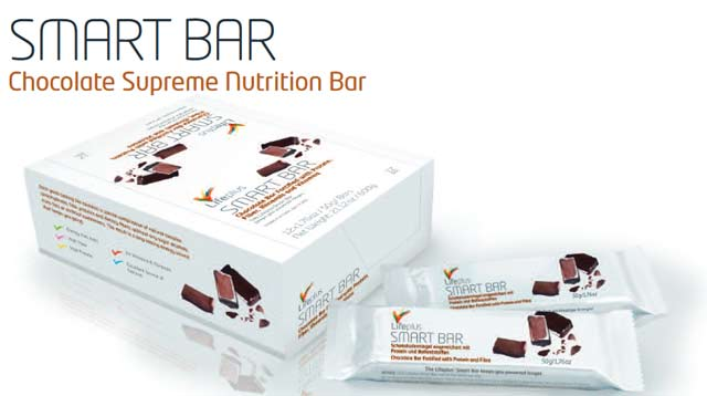 Life Plus SMARTbar Low Glycemic Nutrition Bar