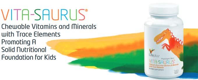 Life Plus Vita-Saurus Children's Multi-Vitamin