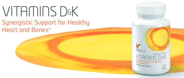 Life Plus Vitamins D & K Nutrition Supplement